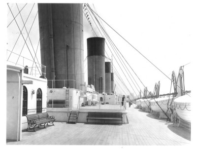 RMS Titanic's Second class deck