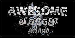 awesome text blogger award