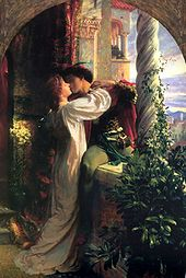 Romeo and Juliet :  A painting