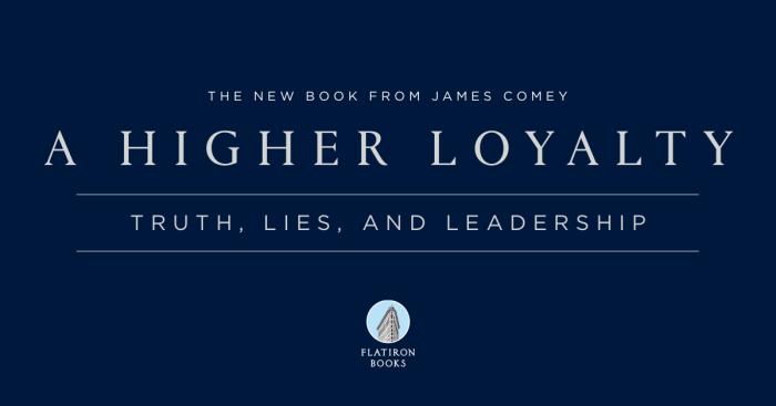 A Higher Loyalty – JamesComey